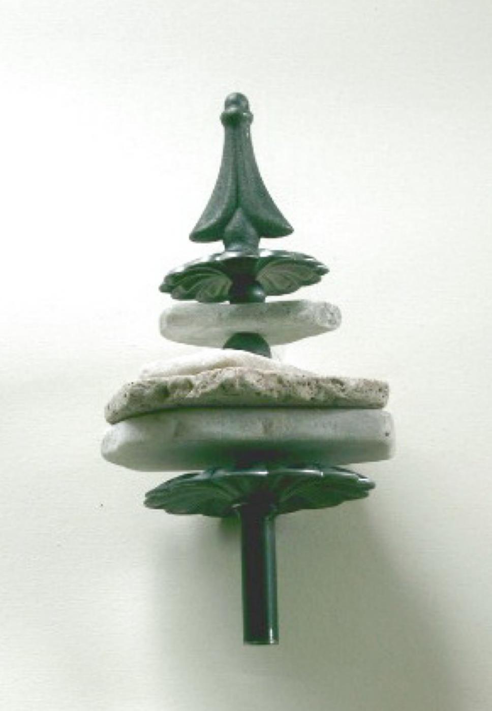 Gartenstecker natur steine metall gartendeko beet stecker for Gartendeko glas stecker